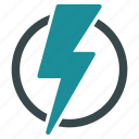 battery, electric, electrical, electricity, energy, light, power icon