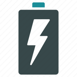 battery, charge, electric accumulator, electrical, electricity, energy, power icon