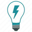 electric lamp, electricity, energy, illumination, light bulb, lightbulb, power icon