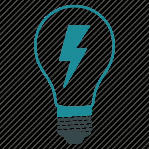 electric lamp, electricity, energy, illumination, light bulb, lightbulb, power icon