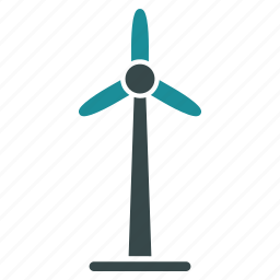 clear energy, eco technology, ecology, electric, green power, power station, wind generator icon