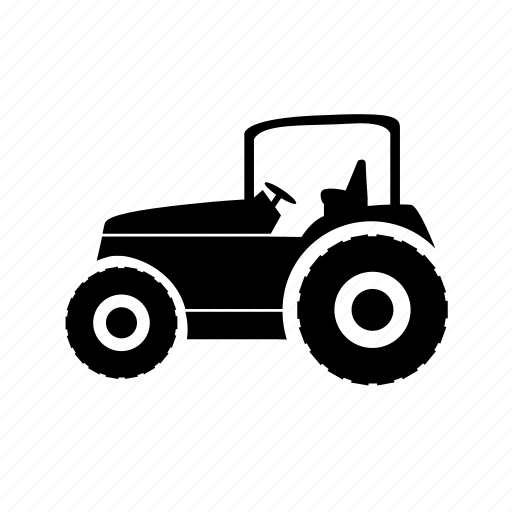 factory, farm, industrial, production, tractor, vehicle icon