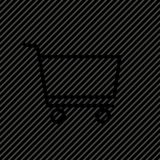 blank, buy, cart, ecommerce, empty, shop, shopping icon