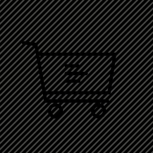 cart, menu, more, option, settings, shop, shopping icon