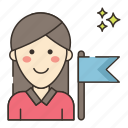 ambassador, marketing, seo icon