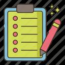 brief, business, marketing icon