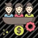 conversion, marketing, optimization, rate icon