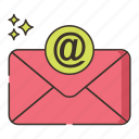 email, letter, marketing icon