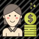 compensation, influencer, marketing icon