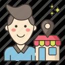 ecommerce, influencer, marketplace icon