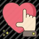 heart, likes, marketing
