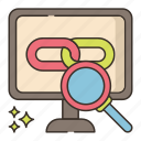 link, marketing, tracking icon
