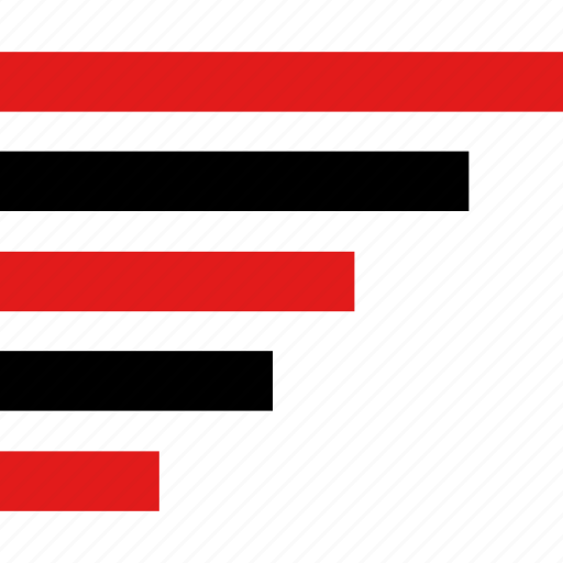 bars, graph, report, web icon