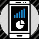 chart, data, infographic, information, pie, seo icon