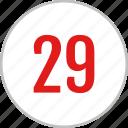 dashboard, twenty, ui, nine, number, clean