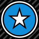 data, infographic, information, seo, star icon