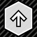 arrow, data, infographic, information, seo, user icon