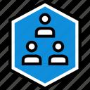 data, infographic, information, seo, three, users icon