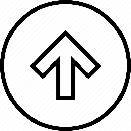 arrow, data, graphics, info, up icon