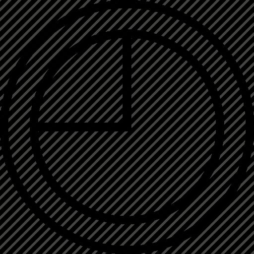data, five, graphics, info, pie, seventy icon