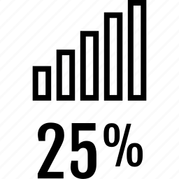 bars, data, five, graphics, info, twenty, up icon