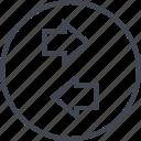 data, online, transfer, web icon