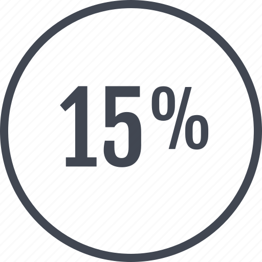 fifty, guardar, percent, rate, revenue, save icon