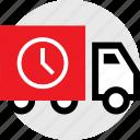 holiday, savings, sensitive, ship, shopping, time, truck icon