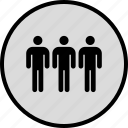 data, infographic, information, person, seo, three, users icon