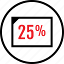 data, five, infographic, page, seo, twenty, web icon