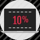 data, infographic, ten percent, web