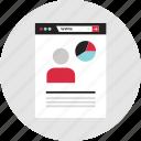 analytics, data, infographic, user