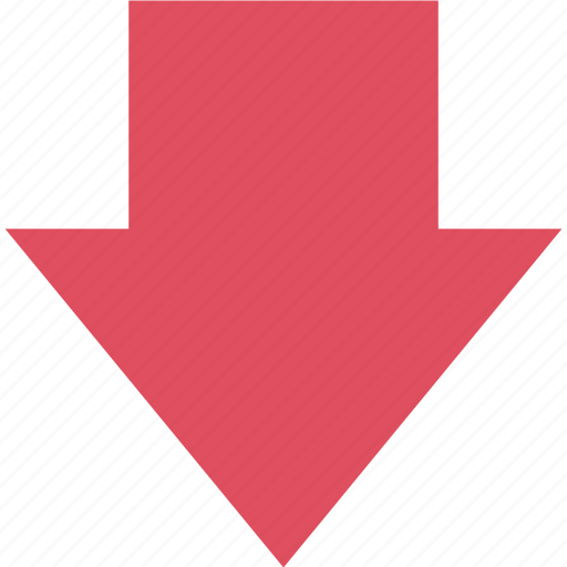 arrow, down, graphic, info, point icon