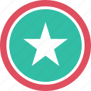 favorite, graphic, info, star icon
