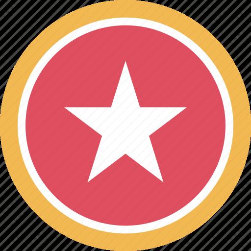 graphic, info, star, web icon