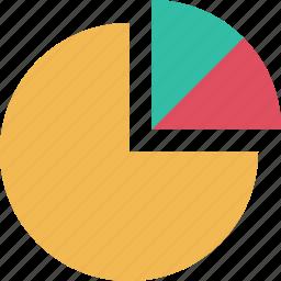 chart, graph, graphic, info, pie icon