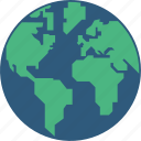 earth, globe, infographic, world icon