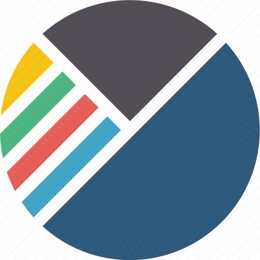 analytics, and, business, chart, column, diagram, graph, pie, report, statistics icon