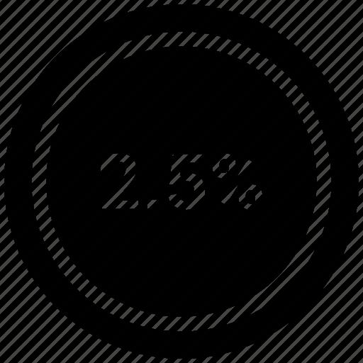 Graph, percent, chart, pie, diagram, percentage icon