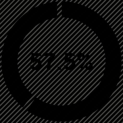 graph, pie chat, presentation, training icon