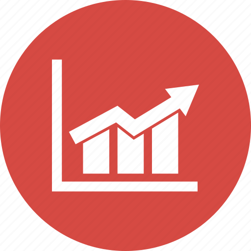 bar chart, diagram, graph, growth, report icon