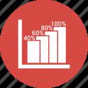 ascending, ascending line, graph, profit icon