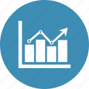 bar chart, diagram, graph, report icon