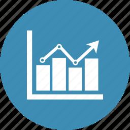 bar chart, diagram, graph, report icon