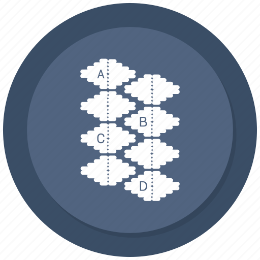 analytics, business, chart, floral, graph, infographic, pattern icon