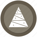 draw, piramid, pyramid, stock icon