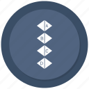 asset, growth, report, statistics icon