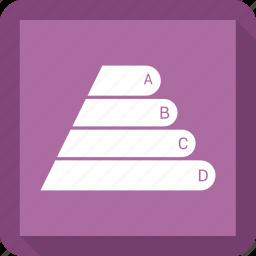 arrow, bar, graph, growth icon