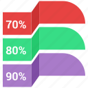 bars, data, infographic, information