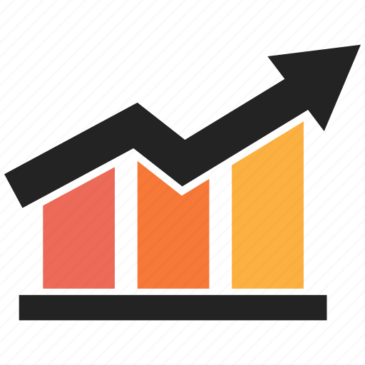 analytics, chart, finance, graph, growth, sales icon